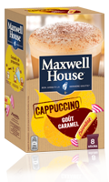 Cappuccino Carambar gout caramel Maxwell House