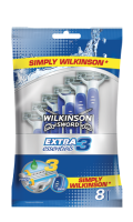 Rasoirs jetables Extra 3 Essential Wilkinson Sword