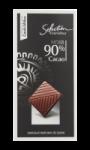 Chocolat Noir 90% Carrefour Sélection