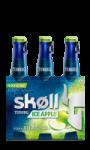 Bières aromatisées Pomme Skoll Ice Apple