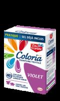 Teinture textile Coloria violet Eau Ecarlate