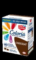 Teinture textile Coloria chocolat Eau Ecarlate