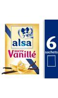 Alsa Sucre Vanillé 6 Sachets 45g