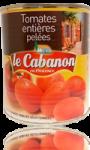 Tomates entières pelées Le Cabanon