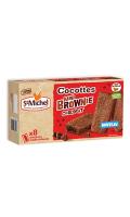 Cocottes mini brownie chocolat Saint Michel