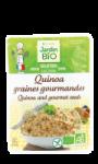Quinoa graines gourmandes sans gluten Jardin BIO'