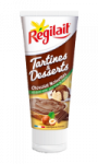 Tartines et desserts Chocolat noisettes Régilait