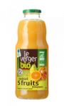 Cocktail de 5 fruits Bio Le Verger Bio