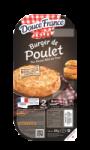 Burger haché de Poulet Rôti Douce France