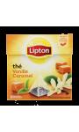 Lipton Thé Vanille Caramel 20 Sachets 34g