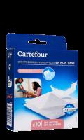 Compresses en non tissé Carrefour