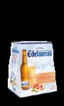 Bière aromatisée Pêche Blanche et Fleur de Génépi Edelweiss
