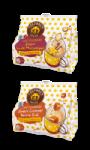 Dosettes de café Vanille Macadamia - Caramel Beurre Salé Columbus Cafés Méo
