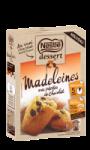 Madeleines aux pépites de chocolat Nestlé dessert