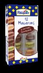 12 Macarons 6 parfums Gourmands
