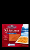 Le Saumon Fumé Delpeyrat origine Norvège 2 Tranches