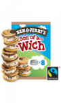 Ben & Jerry's Glace Son of a Wich Cookie Dough x8 240ml