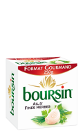 Boursin Format Gourmand Ail & Fines Herbes