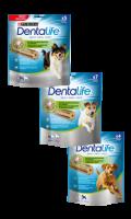 Bàtonnets à mâcher pour chien Dentalife