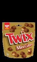 Twix mini cubes