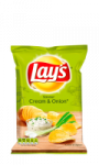 Chips saveur cream and onion Lays