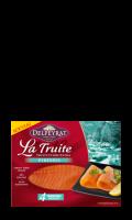 La Truite Fumée Extra origine Pyrénées Delpeyrat