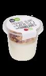 Dessert fromage blanc et müesli aux cranberries