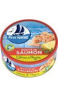 Émietté de Saumon Citron & Thym Petit Navire