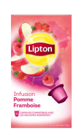 Lipton Infusion Pomme Framboise 10 capsules 25g
