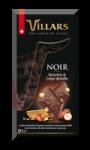 Bloc Gourmand chocolat noir noisettes et crêpe dentelle Villars