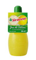 Siracuse jus de citron jaune