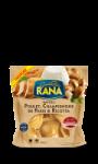 Pâtes fraîches ravioli poulet champignons Rana