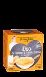 Duo de Carotte & Panais, Quinoa & Gingembre  Carrefour Baby