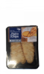 Filet de merlu blanc de Cap façon Fish'n Chips Carrefour