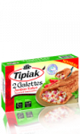2 galettes jambon italien mozzarella  et tomates surgelées Tipiak