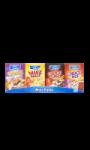 Minipacks de Céréales Carrefour Kids
