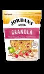 Céréales granola pommes fraises et framboises Jordans