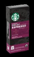 Capsules Espresso Roast Décaféiné Starbucks