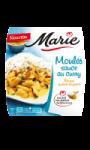 Moules Sauce au Curry, Riz aux Graines de Pavot Marie