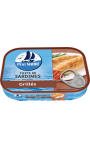Filets de sardines grillés