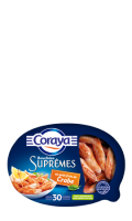 Bouchées Coraya Suprême goût Crabe