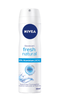 NIVEA Atomiseur Féminin Fresh Natural sans Sels d'Aluminium
