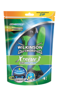 Wilkinson - Xtreme 3 Duo Comfort- rasoirs jetables masculins