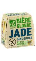 Bière bio blonde sans gluten Jade