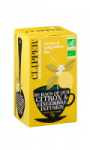 Infusions bio citron/gingembre Clipper