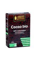 Chocolat en poudre bio 100% cacao maigre Abbaye de Sept-Fons
