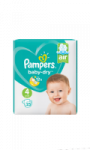 Couches taille 4 : 8-16 kg Pampers