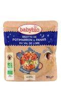 Plat bébé dès 12 mois, risotto/potimarron Babybio