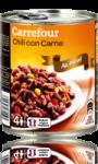Chili con carne au boeuf Carrefour