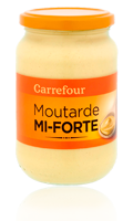 Moutarde mi-forte Carrefour